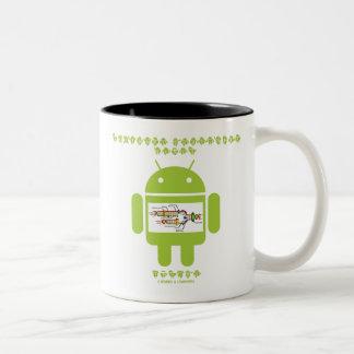 Software Developer Genes Inside (Bug Droid) Mugs