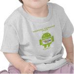 Software Developer Genes Inside (Bug Droid) Shirt
