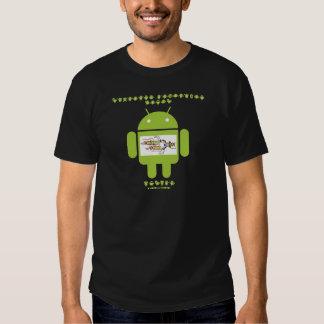Software Developer Genes Inside (Bug Droid) Tee Shirt