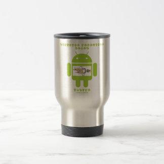Software Developer Genes Inside (Bug Droid) Travel Mug