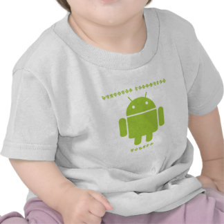 Software Developer Inside (Bug Droid Font Letters) Tshirts