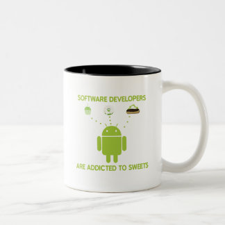 Software Developers Are Addicted To Sweets Mugs