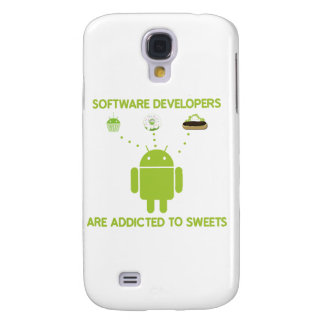 Software Developers Are Addicted To Sweets Samsung Galaxy S4 Case
