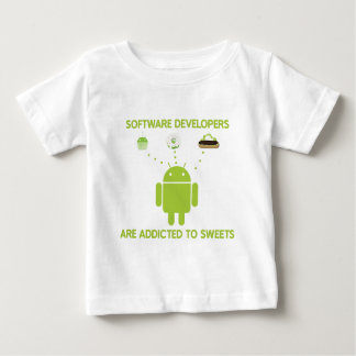 Software Developers Are Addicted To Sweets Shirt