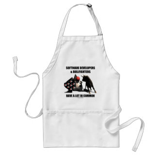 Software Developers Bullfighters Have In Common Adult Apron