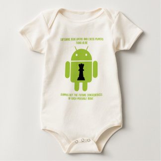 Software Developers Chess Players Think Android Bodysuit