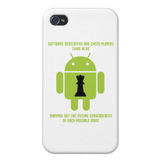 Software Developers Chess Players Think Android iPhone 4 Covers
