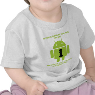 Software Developers Chess Players Think Android T Shirt