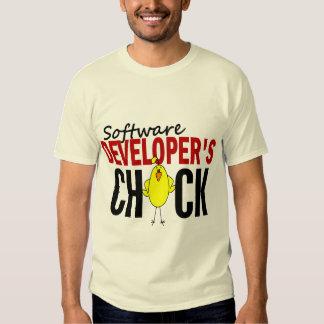 Software Developer's Chick T-shirt