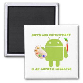 Software Development Is An Artistic Endeavor Magnet