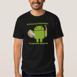 Software Development Is An Artistic Endeavor T-shirt