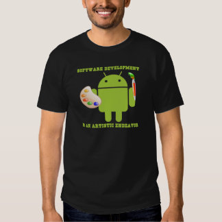 Software Development Is An Artistic Endeavor Tshirt