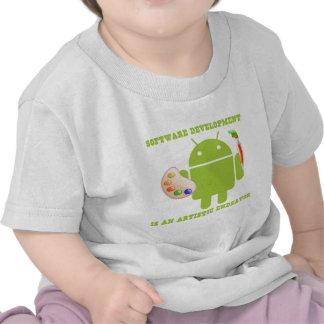 Software Development Is An Artistic Endeavor T Shirts