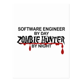 Software Eng Zombie Hunter Postcard