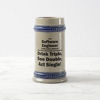 software engineer beer stein