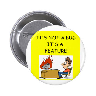 SOFTWARE engineer Pinback Buttons