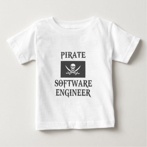 Software Engineer del pirata Playera