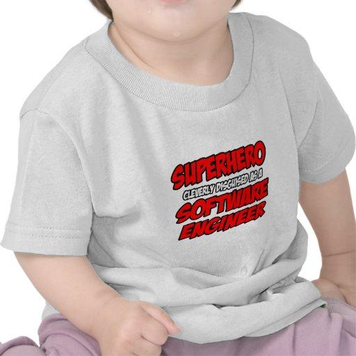 Software Engineer del super héroe… Camisetas