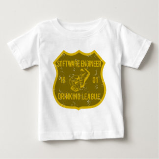 Software Engineer Drinking League Infant T-shirt
