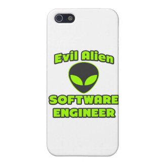 Software Engineer extranjera malvada iPhone 5 Funda