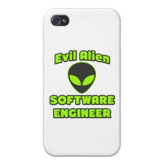 Software Engineer extranjera malvada iPhone 4/4S Fundas