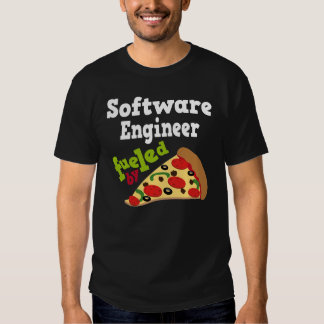 Software Engineer (Funny) Pizza T Shirt