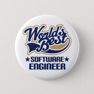 Software Engineer Gift Pinback Button