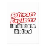 Software Engineer...Kind of a Big Deal Postcard