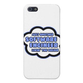 Software Engineer. Livin el sueño iPhone 5 Carcasa