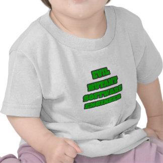 Software Engineer malvada del mutante Camisetas