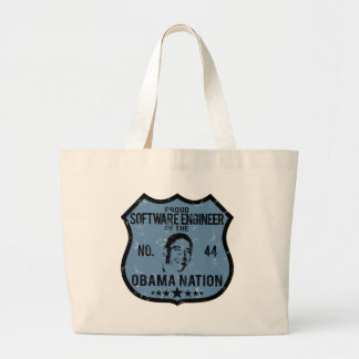 Software Engineer Obama Nation Canvas Bags