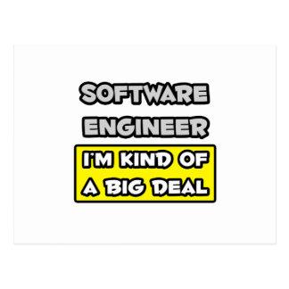 Software Engineer. Soy un poco una gran cosa Tarjetas Postales