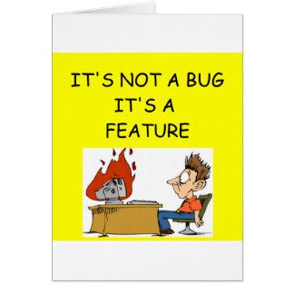 Software Engineer Tarjeta De Felicitación