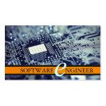 Software Engineer, tarjeta de la empresa informáti Plantillas De Tarjetas De Visita