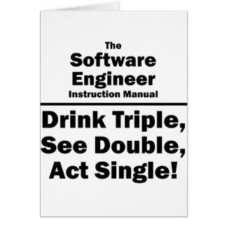Software Engineer Tarjeta Pequeña