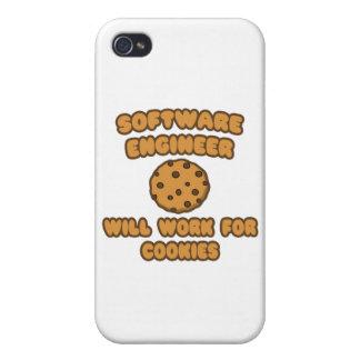 Software Engineer. Trabajará para las galletas iPhone 4 Fundas