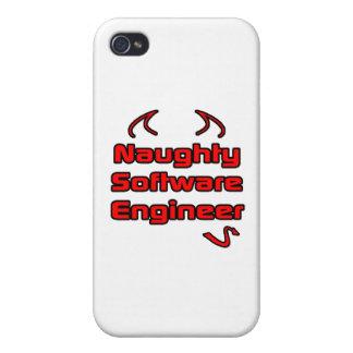 Software Engineer traviesa iPhone 4 Cárcasas