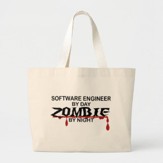 Software Engineer Zombie Canvas Bag