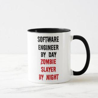 Software Engineer Zombie Slayer Mug