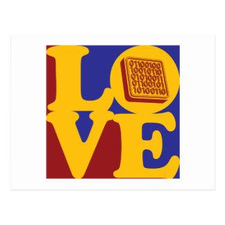 Software Engineering Love Postcard