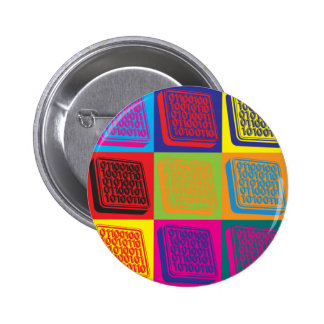 Software Engineering Pop Art Button