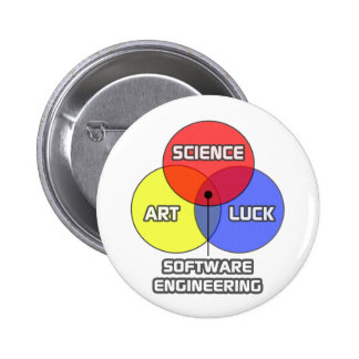 Software Engineering .. Science Art Luck Button