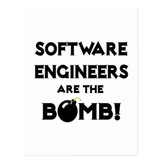 Software Engineers Are The Bomb! Postcard