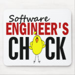 Software Engineer's Chick Mouse Pad