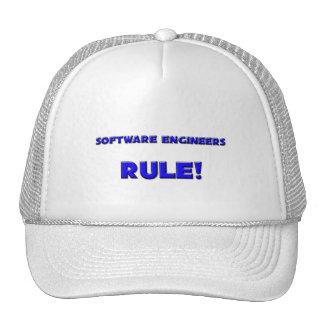 Software Engineers Rule! Trucker Hats