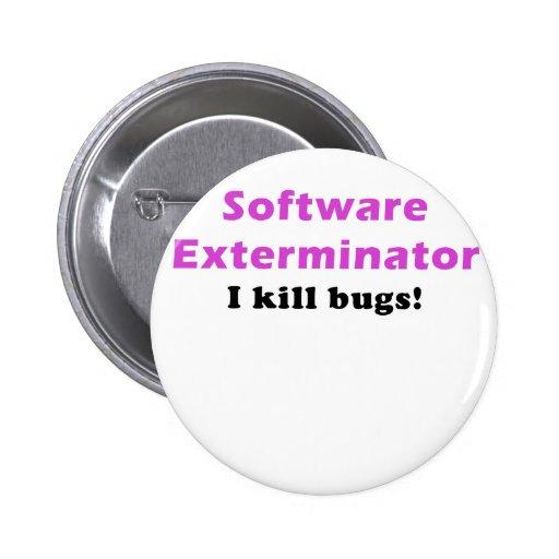 Software Exterminator I Kill Bugs Buttons