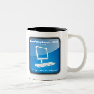 Software Hardware and Information Technology Two-Tone Coffee Mug