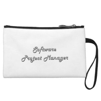 Software Project Manager Classic Job Design Wristlet Clutches