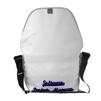 Software Project Manager Classic Job Design Courier Bag