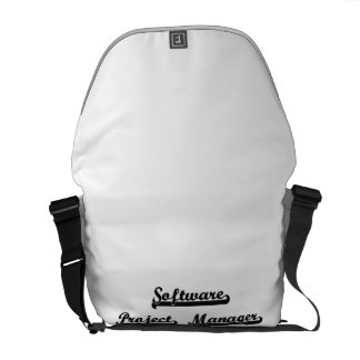 Software Project Manager Classic Job Design Messenger Bags